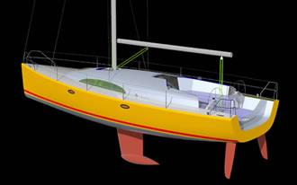 Проект яхты 12 метров