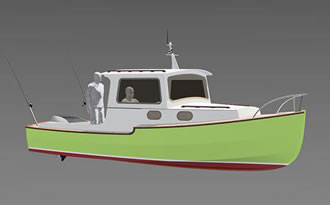 Powerboat 20ft plans
