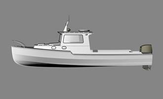 катер моторный 8,4 метра