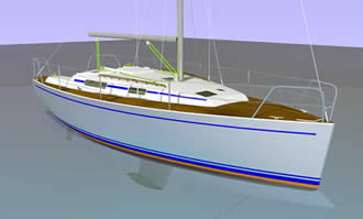 проект яхты 10 метров