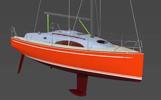 проект яхты парусной 10 метров