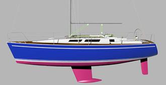 sailinПроект криузной яхты 11 метров